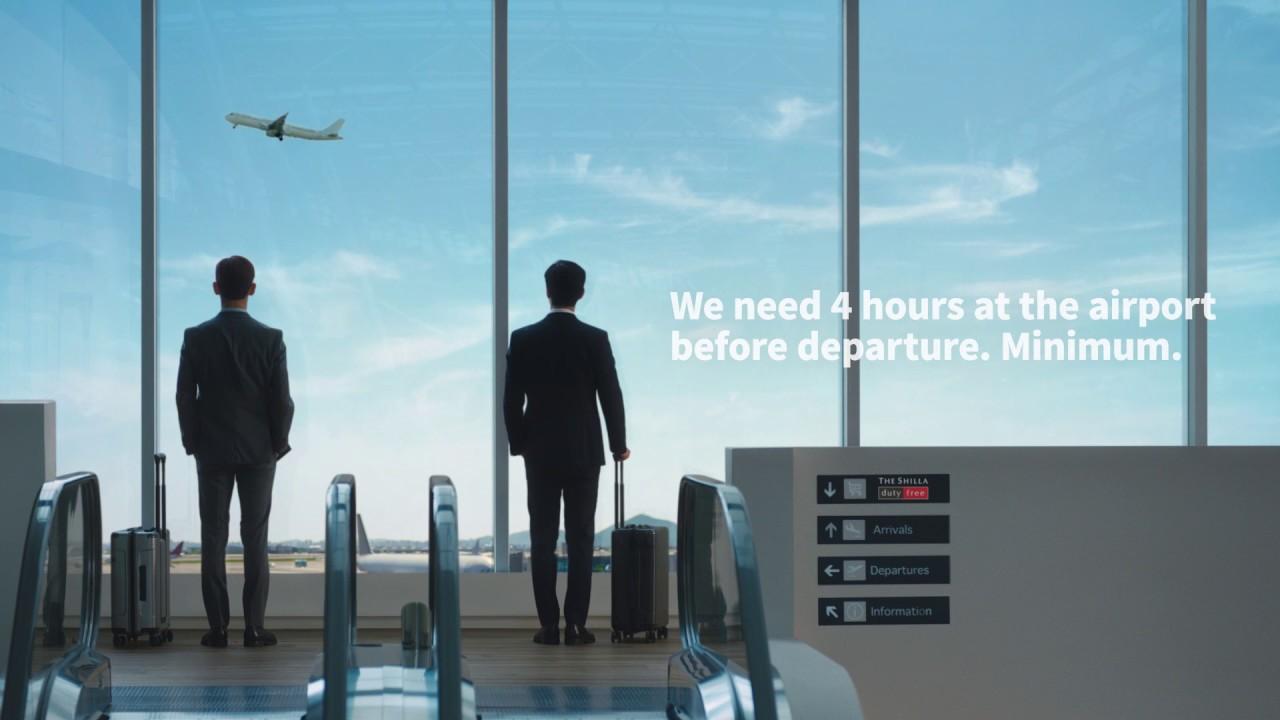 Imagini pentru tvxq airport shilla