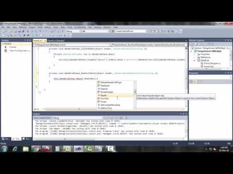 Datagridview Row Serial Number In C#