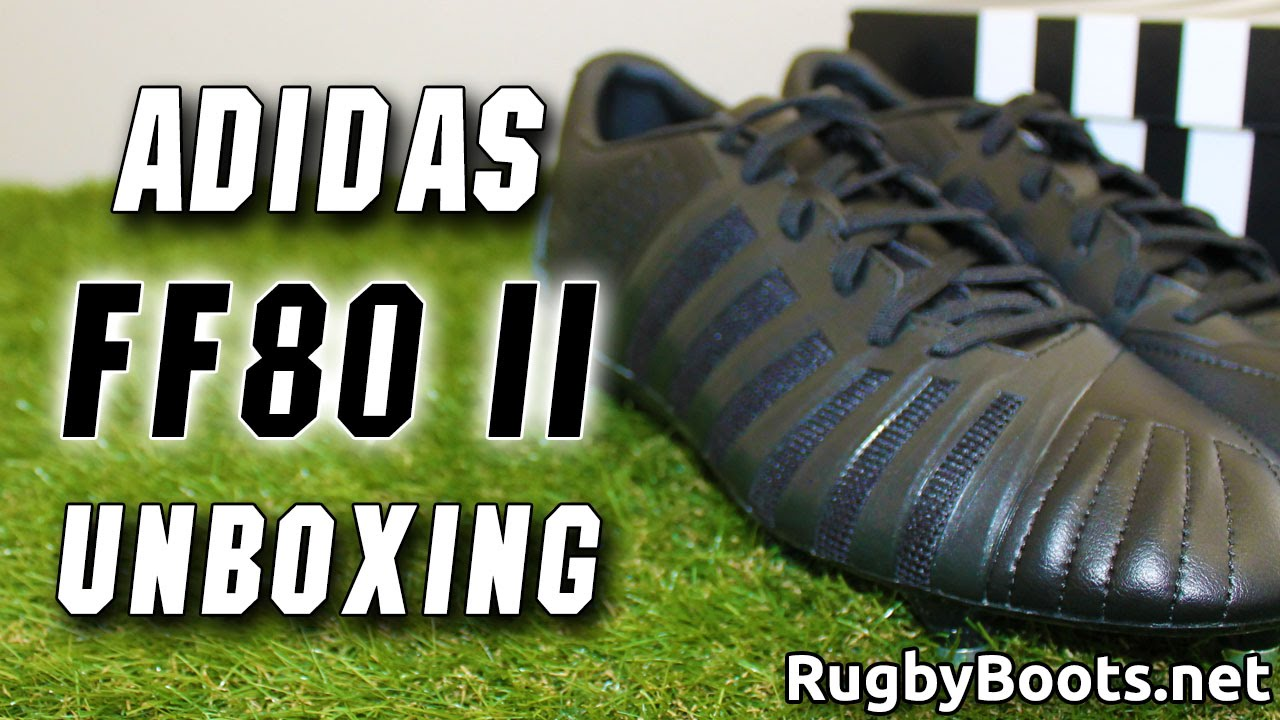 adidas Force of Black FF80 II Unboxing - World Cup All Blacks ...