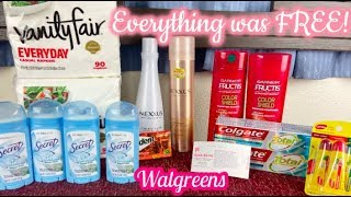 ALL FREE! WALGREENS COUPONING! ALL DIGITAL COUPONS!