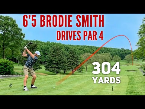 Brodie Hitting 300 Yard Drives | Richmond County Country Club PART 2