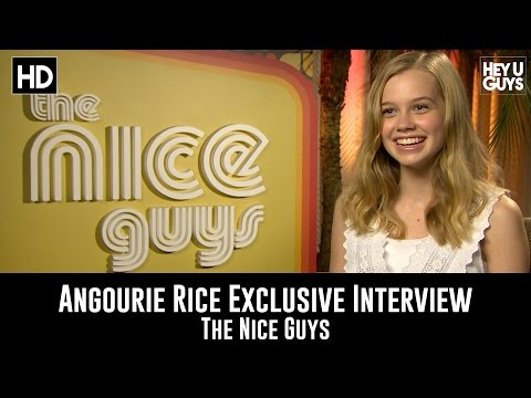 Angourie Rice Exclusive Interview - The Nice Guys fragman