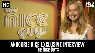 Angourie Rice - The Nice Guys Exclusive Movie Interview