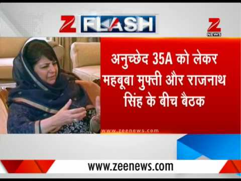 Kashmir: Here's a big update about Article 35A