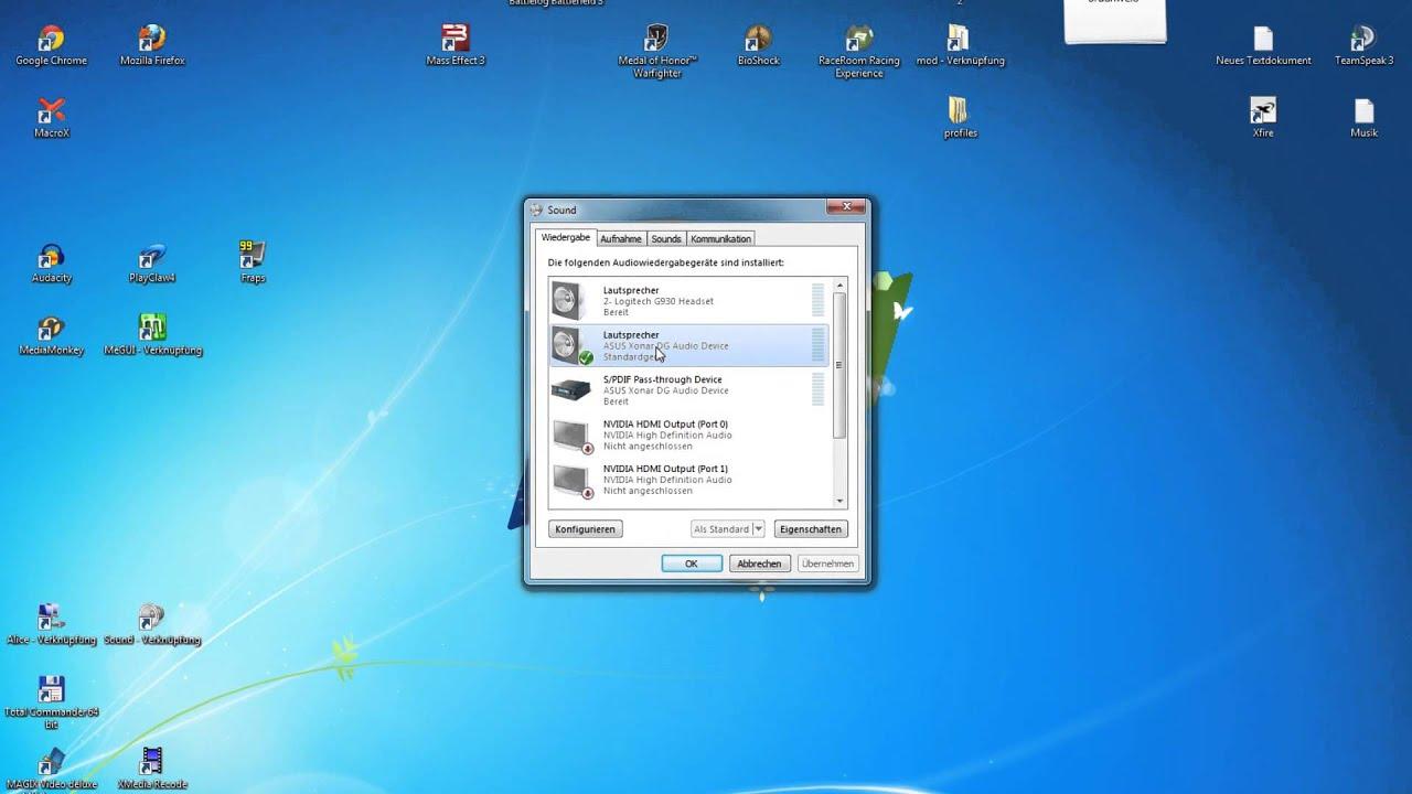 2 audioausgänge gleichzeitig windows 10