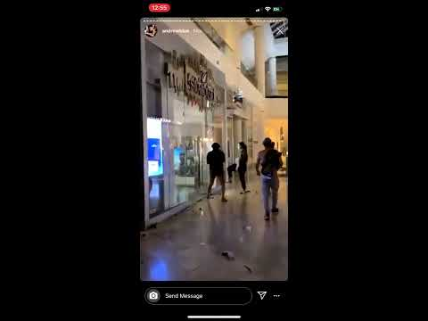Jake Paul Spotted Looting Fashion Square