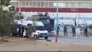 مواجهات عنيفة بالحسيمة ( بلدة بوكيدان ) بين المحتجين و القوات القمعية