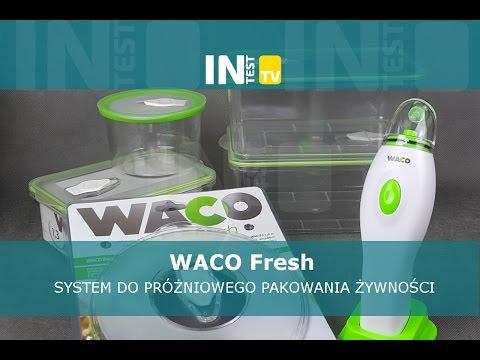 System do próżniowego pakowania żywnosci WACO Fresh - Recenzja - Test - PL - Polska - inTest