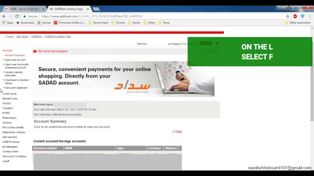 How to saudi arabia traffic violation online payment sabb bank