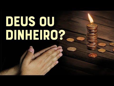 QUEM VOCÊ AMA MAIS? DEUS OU O DINHEIRO? - #135 Momento com Deus