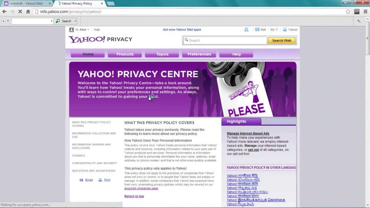 How To Delete Yahoo Accountpermanentlyremovedeactivate My Yahoo Account  2014 Must Watch!