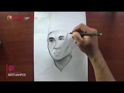 Sketsa Wajah Kasman Singodimedjo Tokoh Sumpah Pemuda Mp3