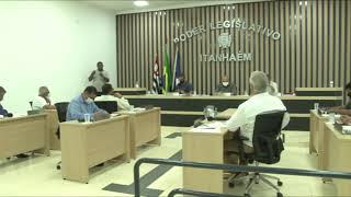 142º Sessão ordinária da Décima Sétima Legislatura - ITANHAÉM