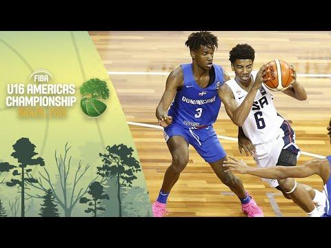 USA v Dominican Republic - FIBA U16 Americas Championship 2019 [POR]