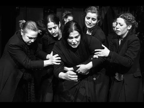 Ancient theater performance: Hecuba, Euripides (EPIDAURUS)