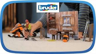 bworld Berghütte -- 63102 -- Bruder Spielwaren