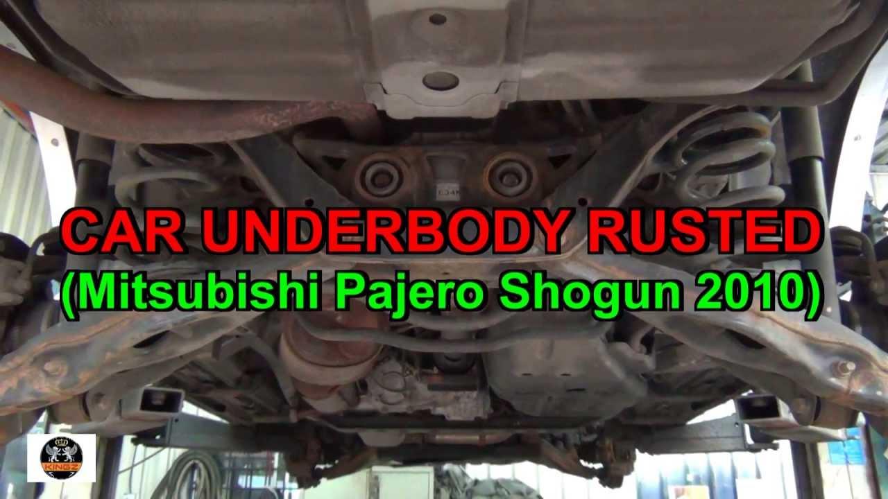 Anti Rust Underseal Car Underbody Mitsubishi Shogun