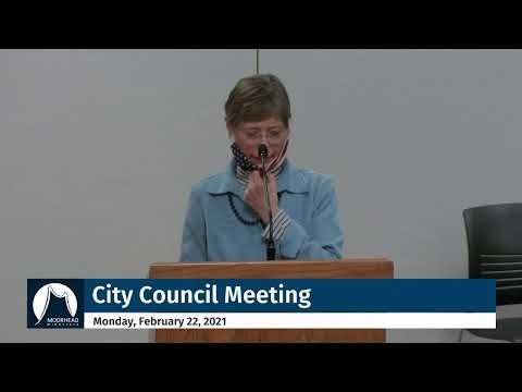 City Of Moorhead - City Council Meeting Feb 22, 2021