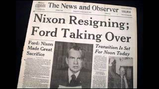 9th August 1974: Richard Nixon resigns as President of the USA