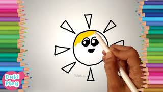 sun drawing | let