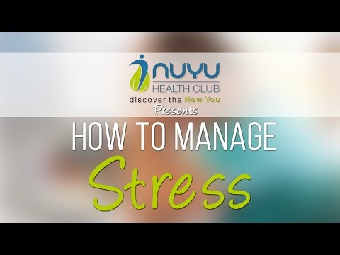 Stress Management Session - By NUYU HEALTH CLUB