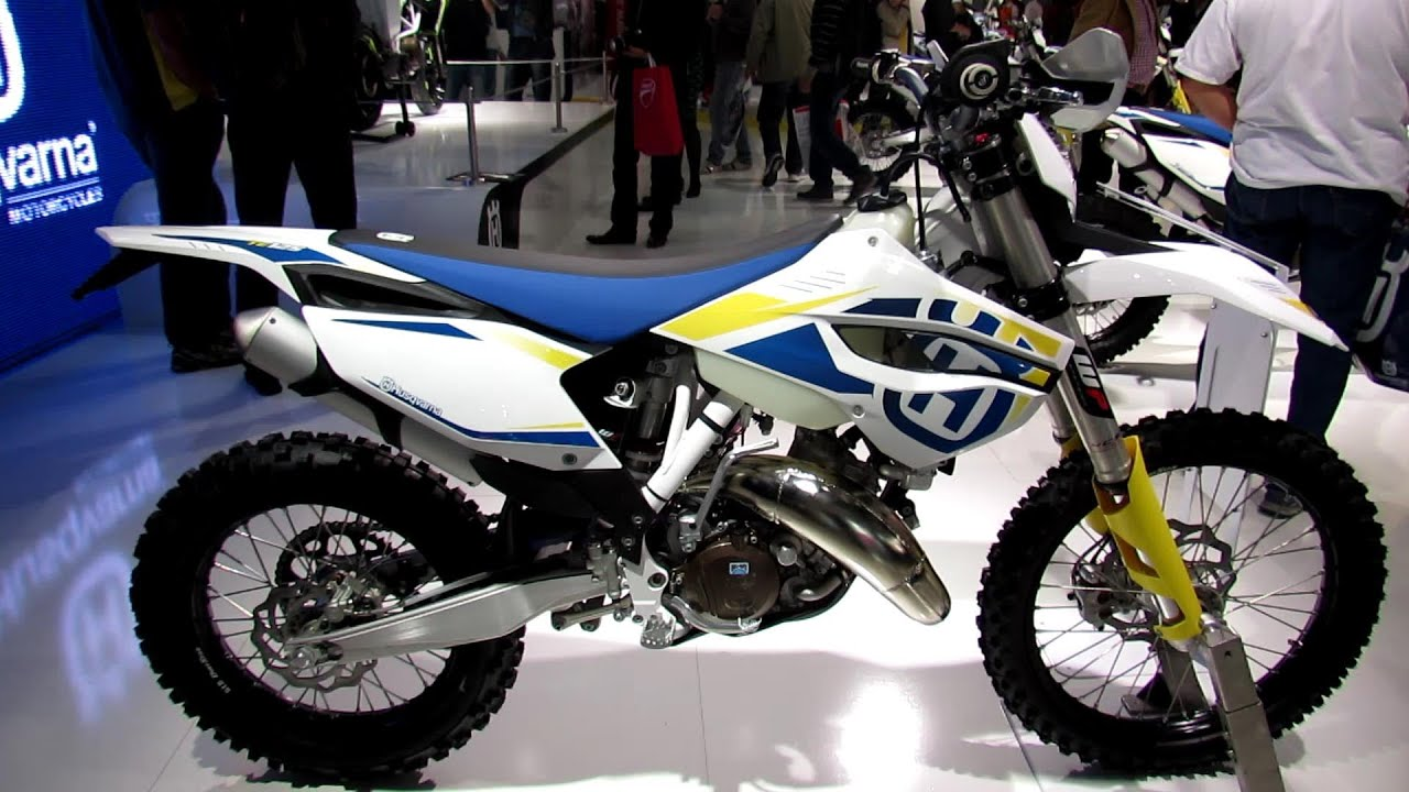 2014 husqvarna te 125 walkaround 2013 eicma milan motorcycle exhibition youtube. Black Bedroom Furniture Sets. Home Design Ideas