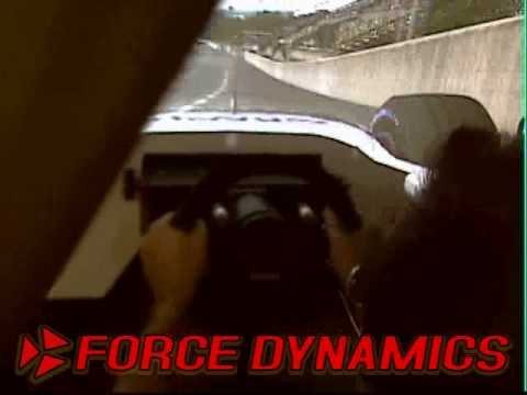 Force-Dynamics Simulation Racing at SimWorld 3