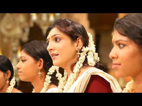 Famous Bombay Model in Sreekrishna Song Video Sung by Jyotsna