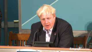 London Mayor Boris Johnson: give children two hours of sport a day