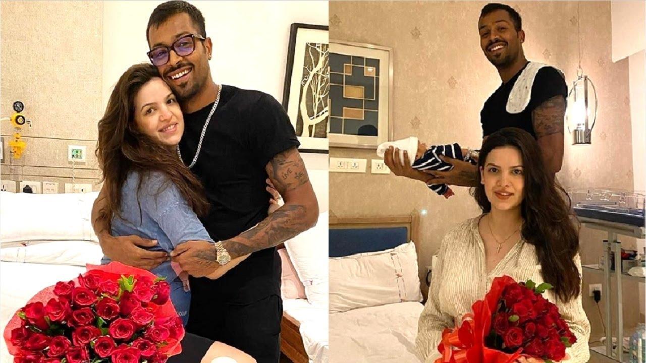 Hardik Pandya Shares SWEETEST Moment With Wife Natasa Stankovic & BABY Boy At Hospital