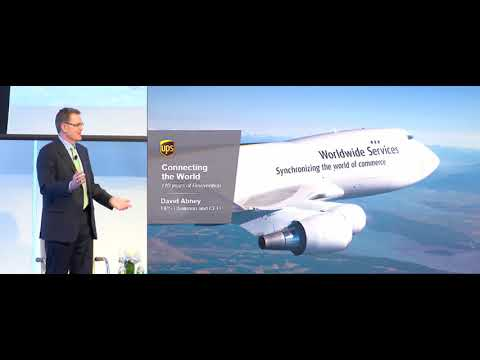 David Abney, Chairman & CEO, UPS presents at the CEO Investor Forum, February 2018