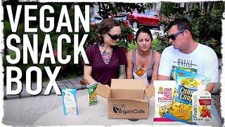 Non-Vegans Try Vegan Food | Vegan Cuts Unboxing!