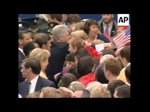 IRELAND: LIMERICK: US PRESIDENT CLINTON VISIT