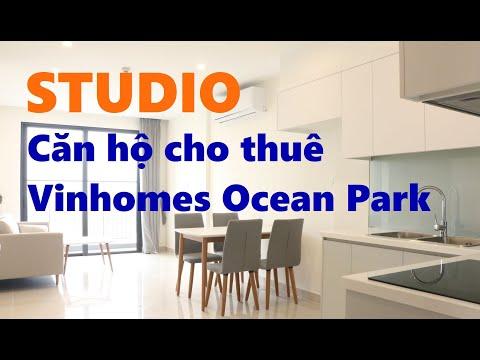 Căn Hộ Cho Thuê Studio 33m2 - Vinhomes Ocean Park Chỉ 4,7tr/Tháng