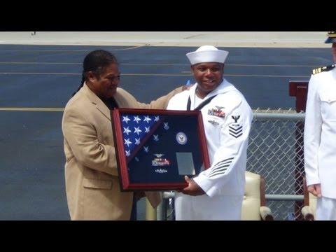 Tirrell Williams' Naval Retirement