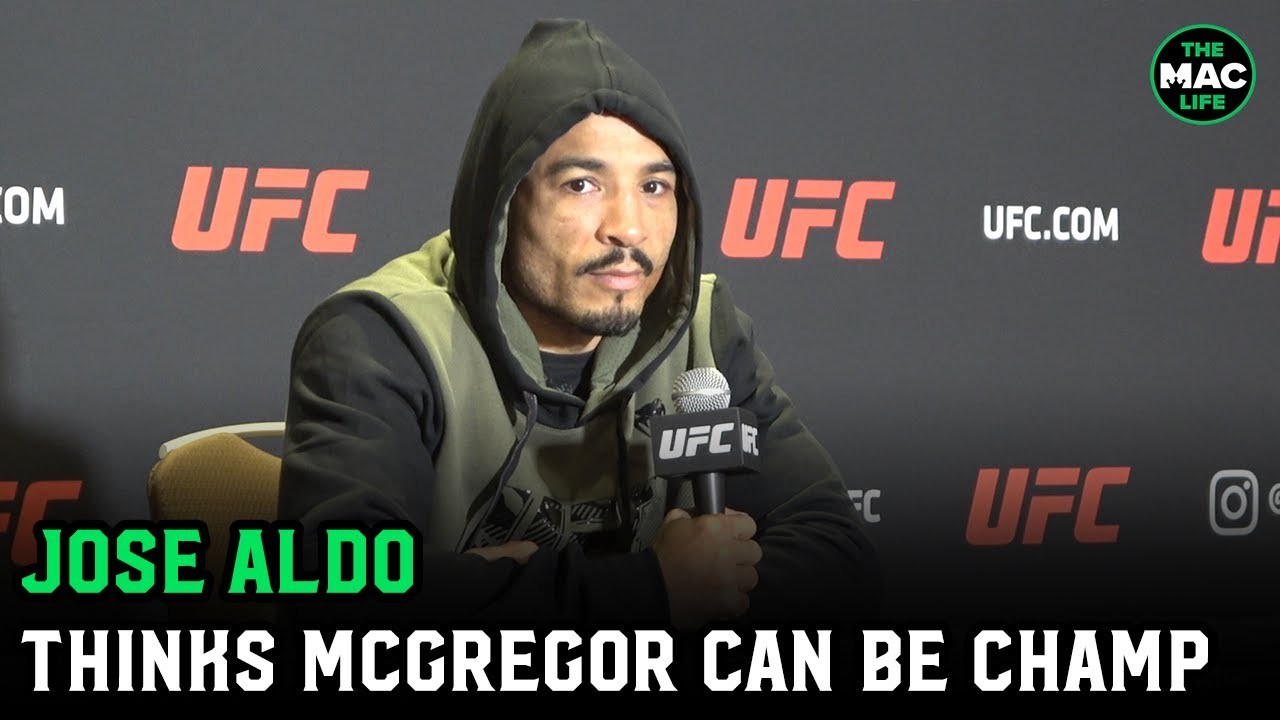 """Jose Aldo believes Conor McGregor can be champion again: """"I never doubt the heart of champions"""""""