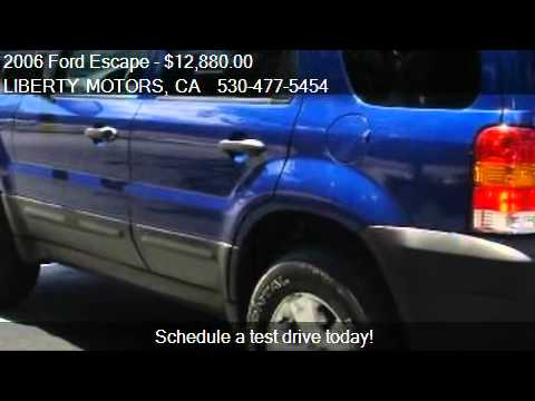 2006 Ford Escape XLT Sport 4WD - for sale in Grass Valley, C