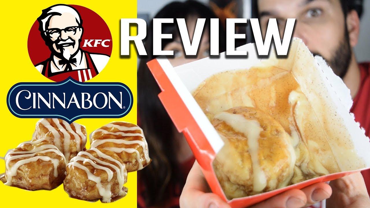 Kfc C Cinnabon C Dessert Biscuits Review Youtube