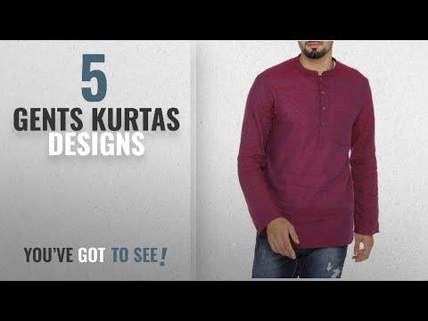 Top 10 Gents Kurtas Designs [2018]: Indus Route by Pantaloons Men's Cotton Short Kurta