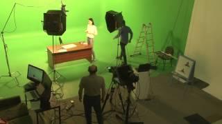 Как проходит подготовка к съемкам в InternetUrok.ru