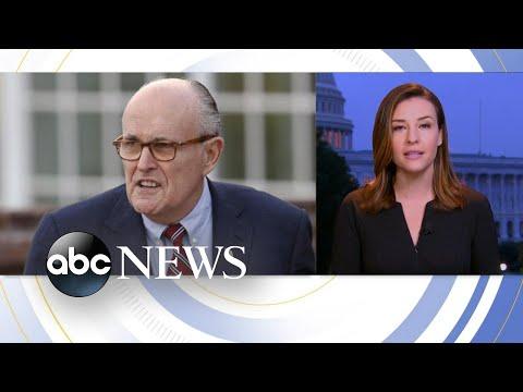 Giuliani, Pence defy Congressional subpoenas    ABC News