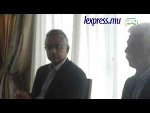 Conférence de presse de Pravind Jugnauth et Paul Bérenger (2e partie)