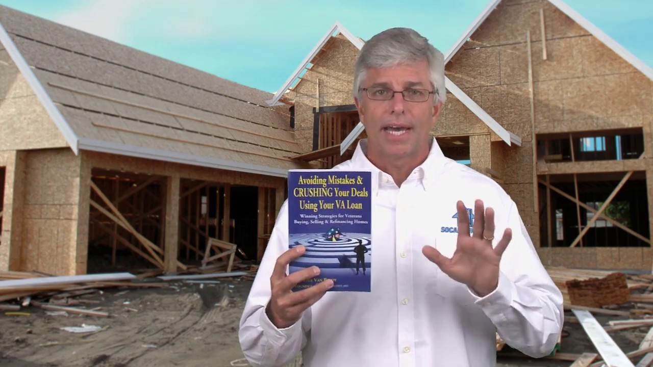 Buy land and build a house using a VA construction loan - YouTube