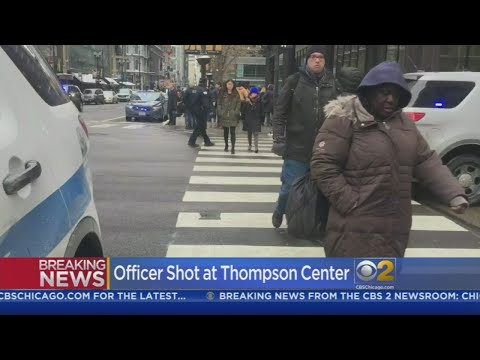 CBS 2 Breaking News: Police Officer Shot Downtown