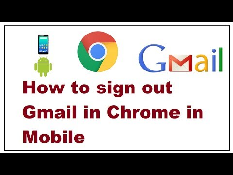 How To Sign Out Gmail In Chrome In Mobile