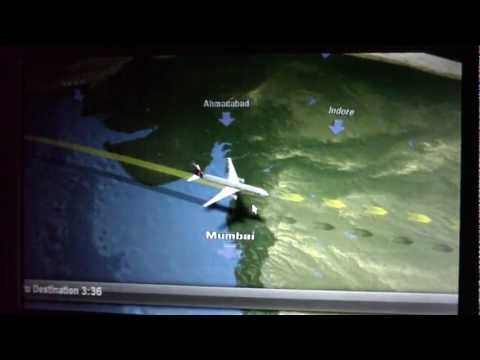 Moving map - Qatar Airways Boeing 777-300ER