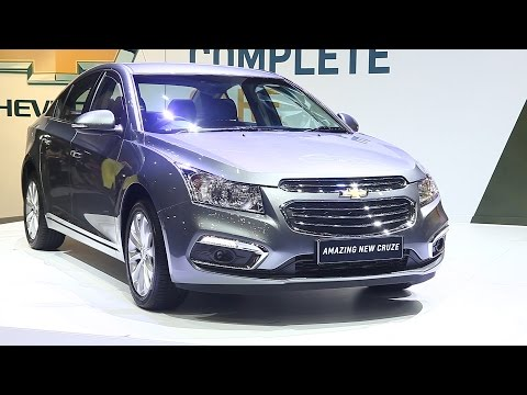 2015 Chevrolet Cruze Thailand launches : เปิดตัว เชฟโรเลต ครูซ ใหม่