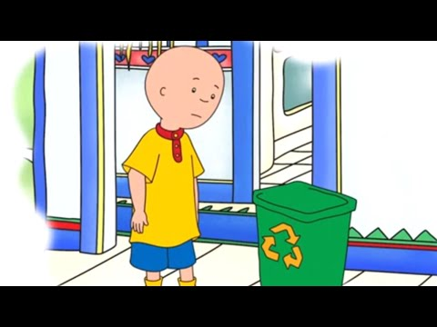 Caillou Full Episodes | Caillou And Recycling | Cartoon Movie | WATCH ONLINE | Cartoons For Kids
