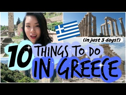10 Things to do in Greece in 3 DAYS!