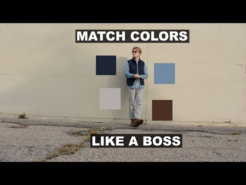 HOW TO MATCH COLORS - MENS OUTFITS - JOHN GREENACRE